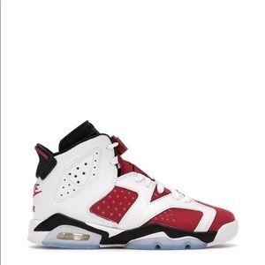 "🔴⚪️*NEW* Air Jordan 6 Retro ""Carmine"" (GS)"